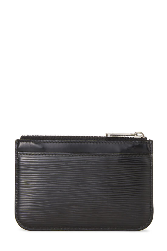 Black Epi Pochette Clefs, , large image number 2