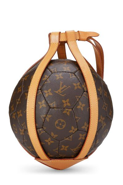 Limited Edition Monogram Canvas World Cup Soccer Ball, , large