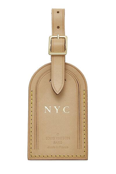 Limited Edition Vachetta NYC Luggage Tag