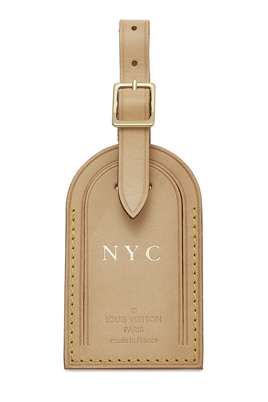 Limited Edition Vachetta NYC Luggage Tag, , large image number 0