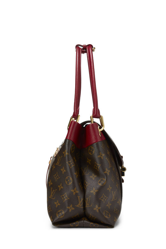 Red Monogram Canvas Olympe, , large image number 2