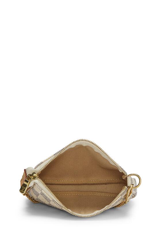 Damier Azur Pochette Accessoires Mini, , large image number 5