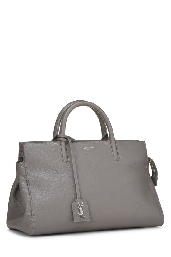 Grey Calfskin Rive Gauche Cabas Small, , large image number 2