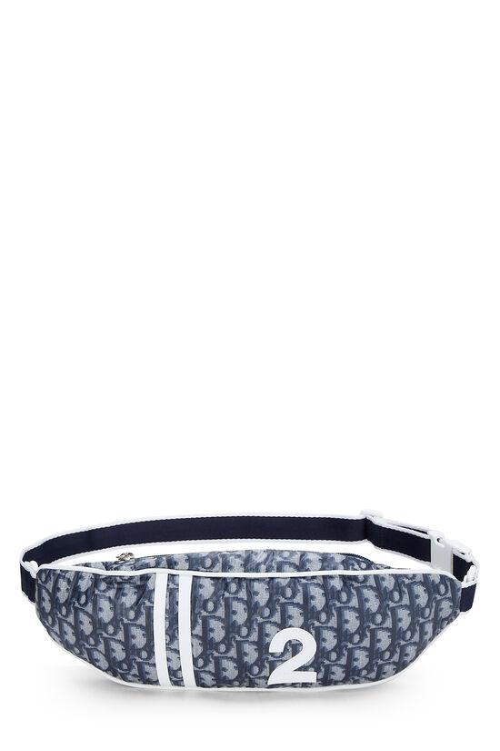 Navy Trotter Nylon Varsity Belt Bag, , large image number 0