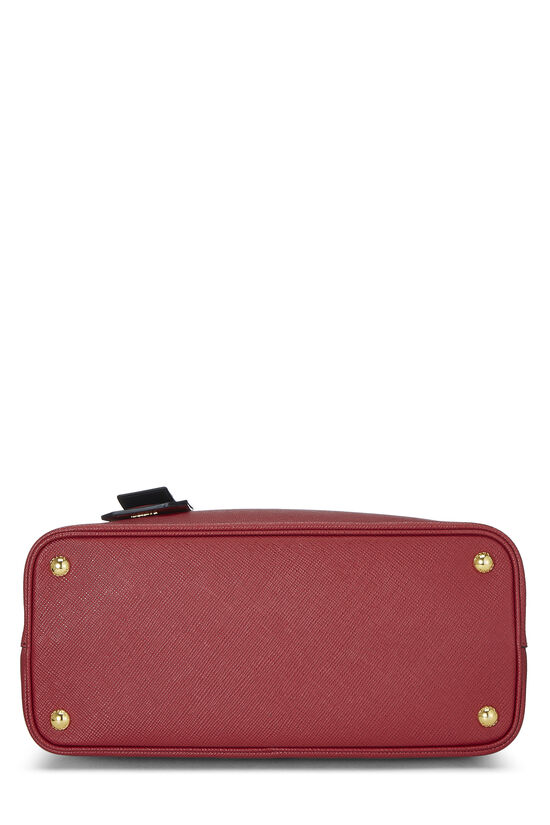 Red Saffiano Double Bag Small, , large image number 4