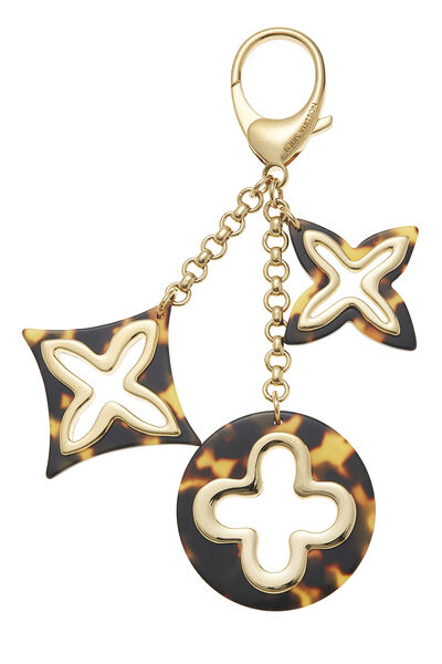 Gold & Tortoiseshell Insolence Bag Charm