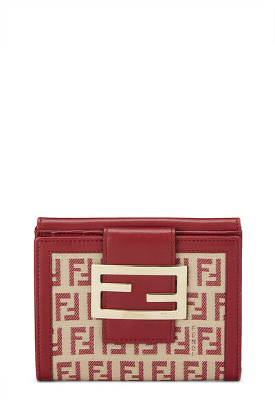 Red Zucchino Canvas Compact Wallet