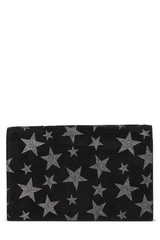 Black Star Suede Kate Tassel Wallet-on-Chain, , large image number 3