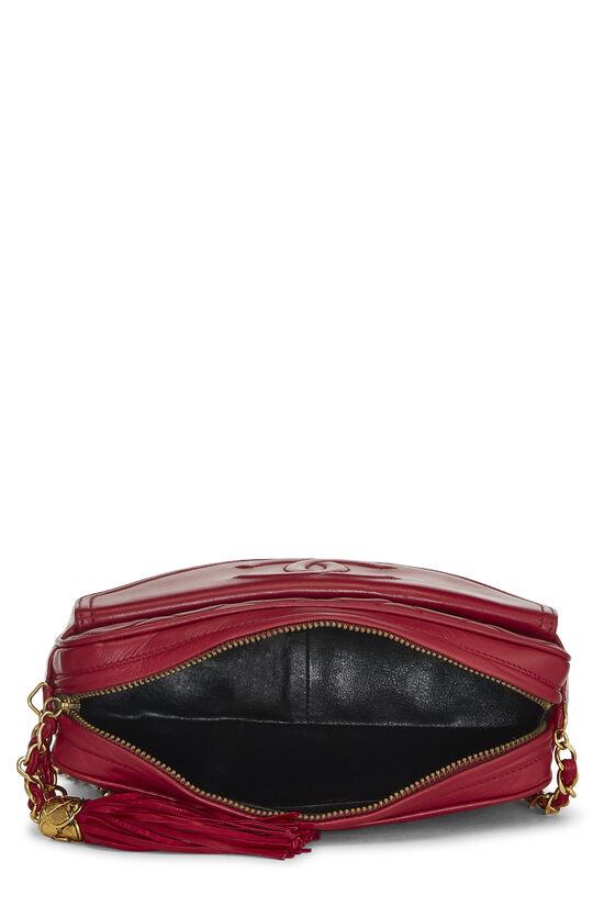 Red Lambskin Pocket Camera Bag Medium, , large image number 5