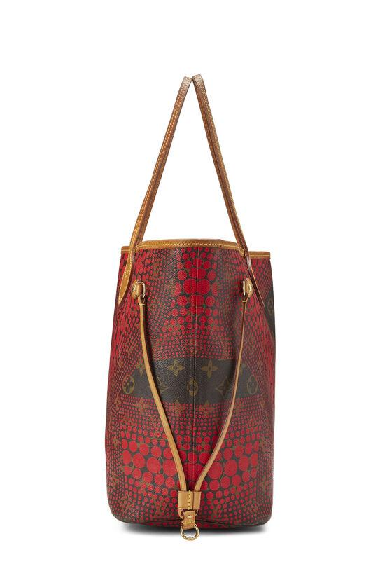 Yayoi Kusama x Louis Vuitton Red Monogram Dots Infinity Neverfull MM, , large image number 2