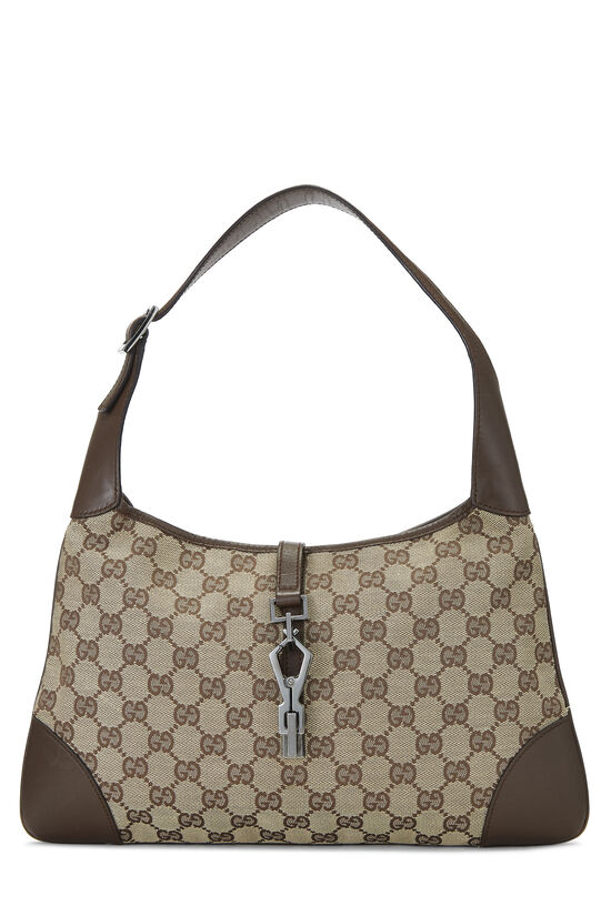 Original GG Canvas Jackie Hobo Small, , large image number 0