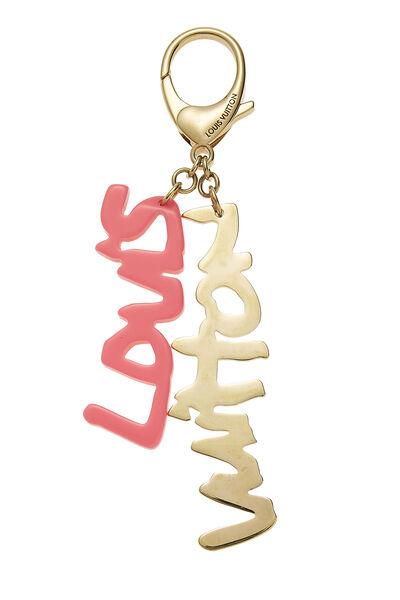 Stephen Sprouse X Louis Vuitton Bijoux Sac Graffiti Bag Charm