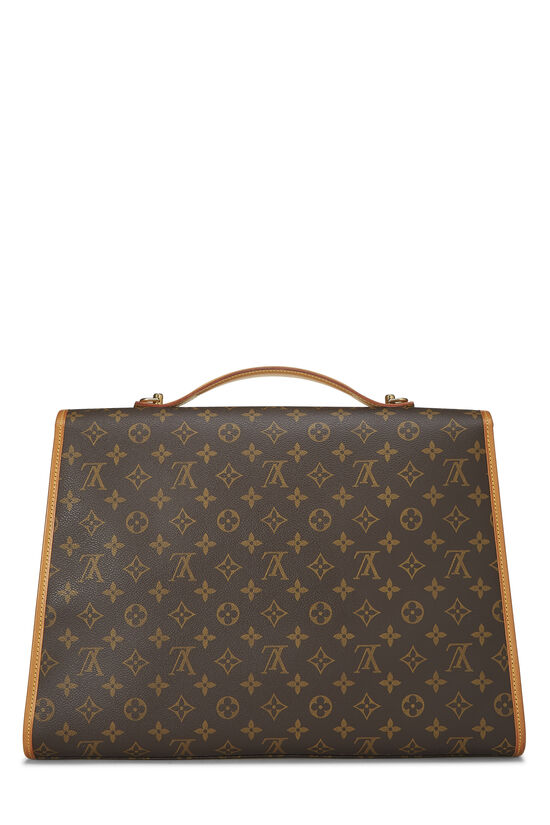Monogram Canvas Beverly Briefcase, , large image number 3