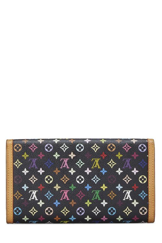 Takashi Murakami x Louis Vuitton Black Monogram Multicolore International, , large image number 2
