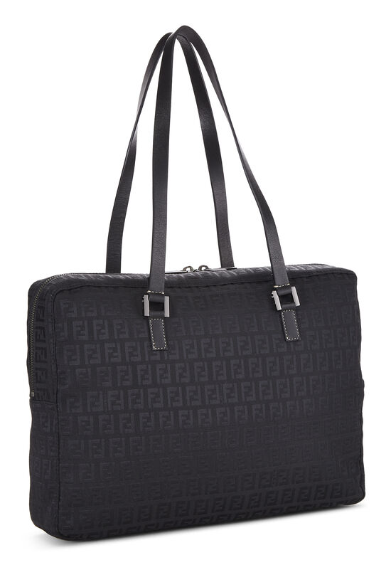 Black Zucchino Canvas Tote Small, , large image number 1