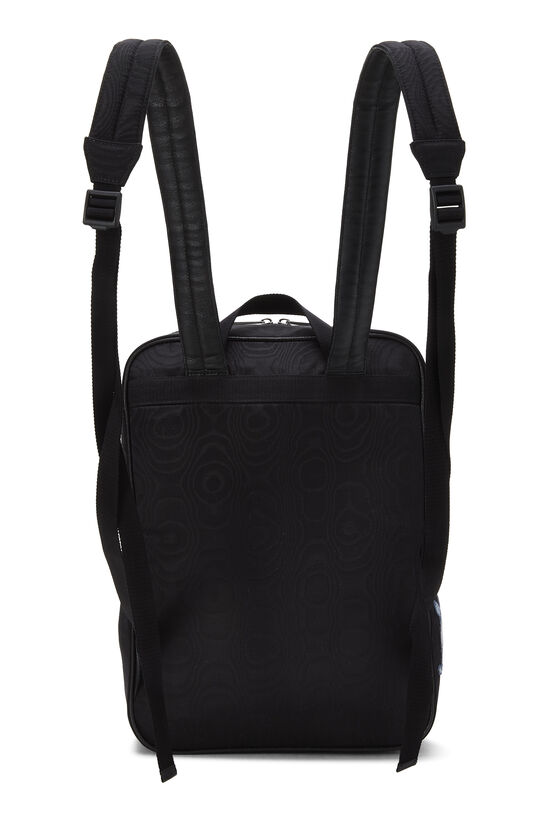 Black Nylon Tenebre Backpack, , large image number 3