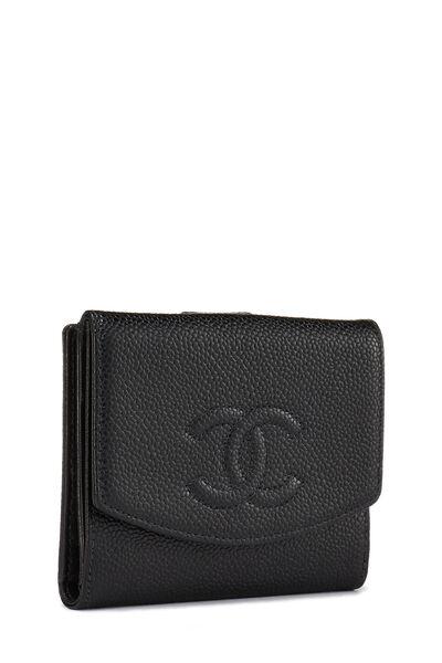 Black Caviar 'CC' Compact Wallet, , large