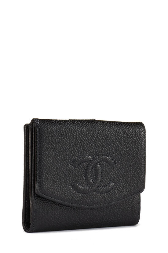 Black Caviar 'CC' Compact Wallet, , large image number 1