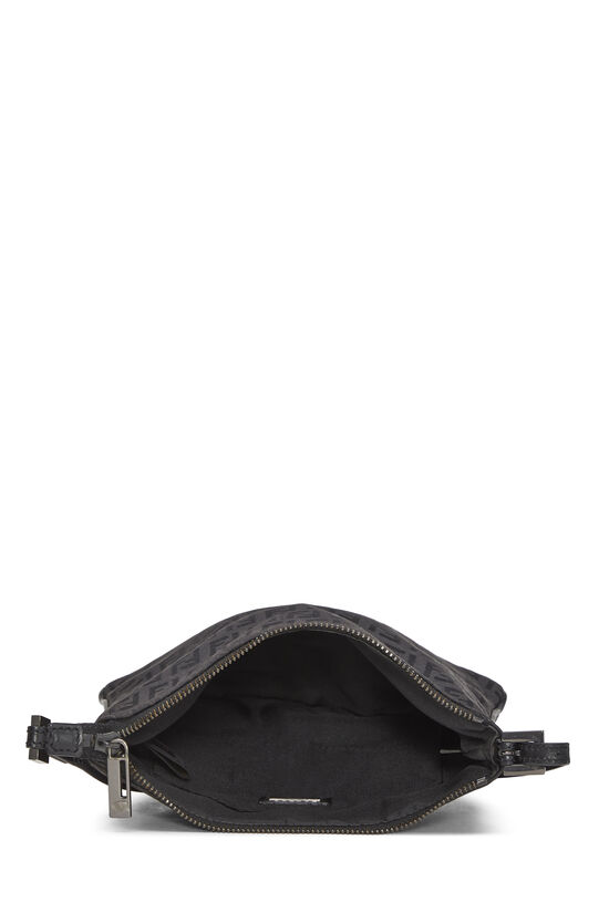 Black Zucchino Canvas Shoulder Bag Small, , large image number 5