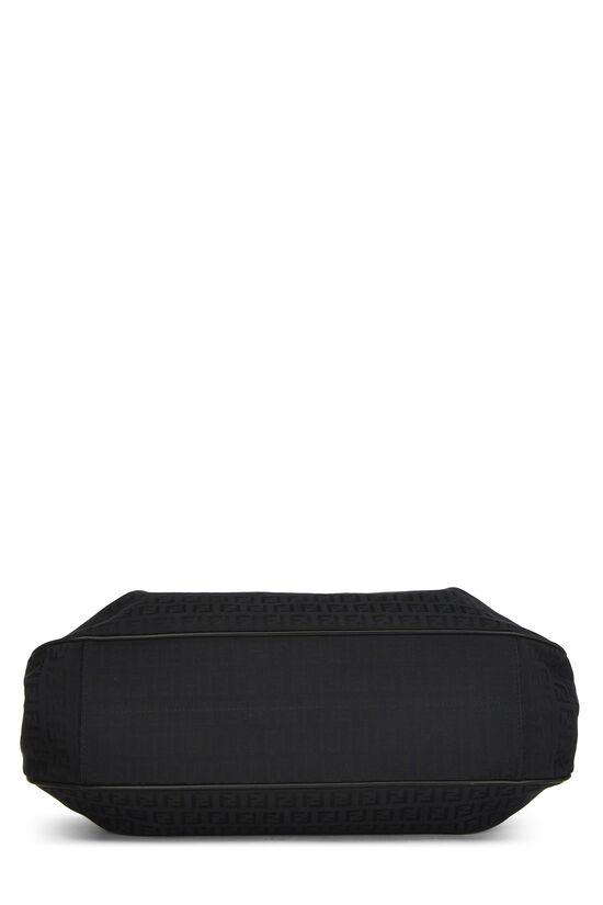 Black Zucchino Canvas Shoulder Large, , large image number 4