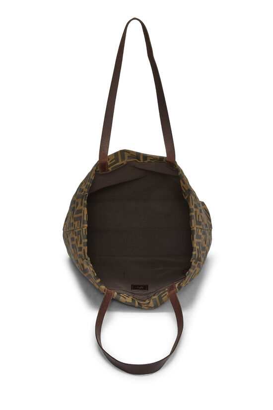 Brown Zucca Nylon Tote Small, , large image number 5