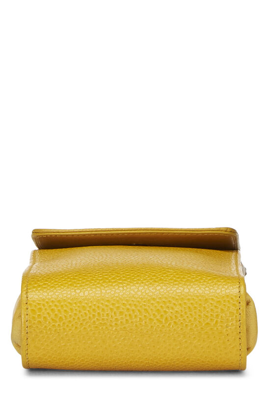 Yellow Caviar Timeless 'CC' Crossbody Pouch, , large image number 4