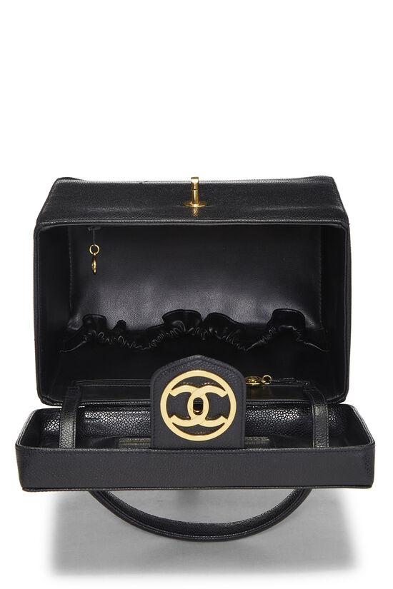 Black Caviar Circle 'CC' Vanity Large, , large image number 6