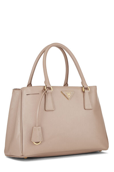 Pink Saffiano Lux Tote, , large