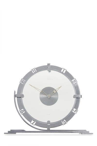 Jaeger-LeCoultre x Hermés Silver Clock