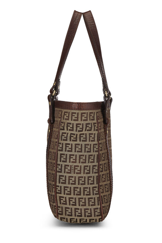 Brown Zucchino Canvas Tote Small, , large image number 2