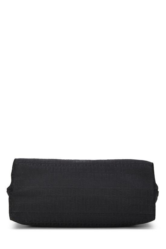 Black Zucchino Canvas Handbag Large, , large image number 4