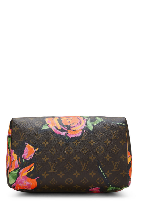 Stephen Sprouse x Louis Vuitton Monogram Roses Speedy 30, , large image number 4