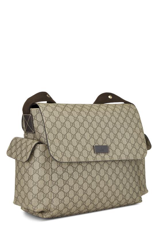 Original GG Supreme Canvas Diaper Bag, , large image number 1