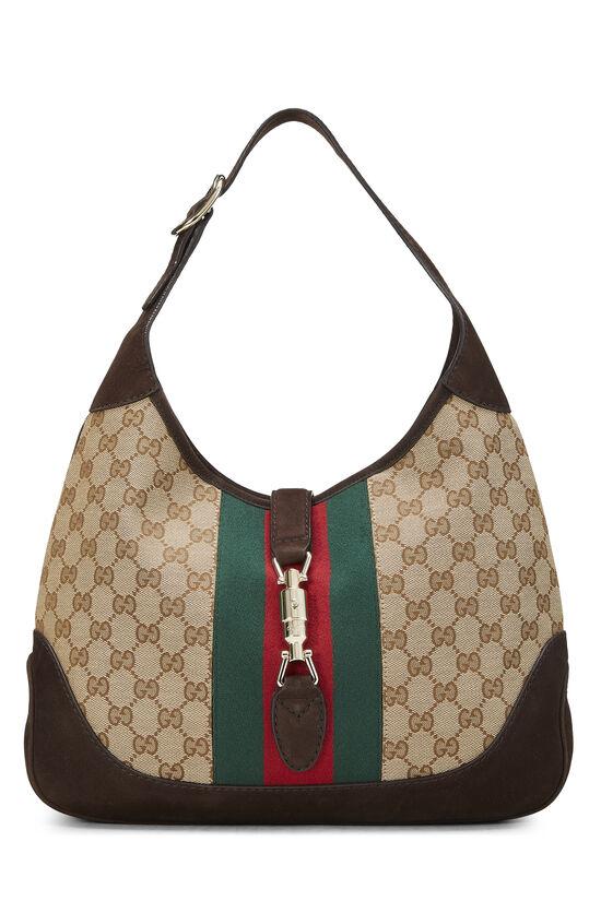 Original GG Canvas Jackie Shoulder Bag, , large image number 0