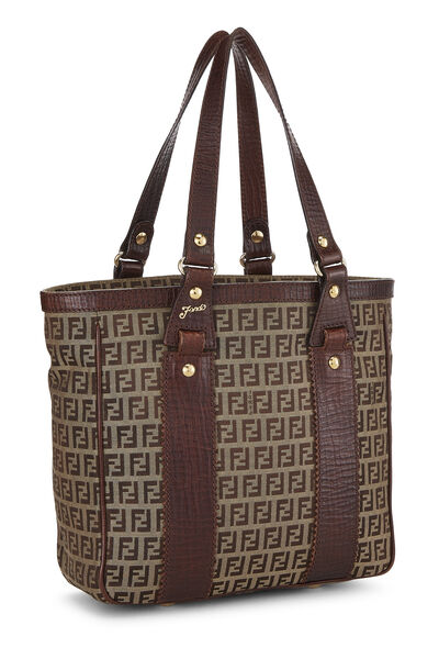 Brown Zucchino Canvas Tote Small, , large