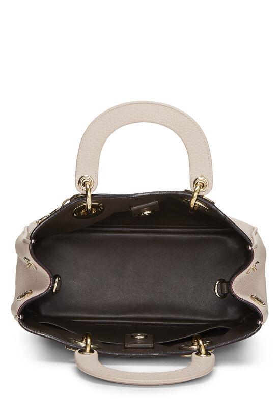 Pink Calfskin Diorissimo Handbag Mini, , large image number 5