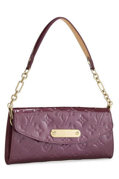 Violette Monogram Vernis Sunset Boulevard Shoulder Bag, , large