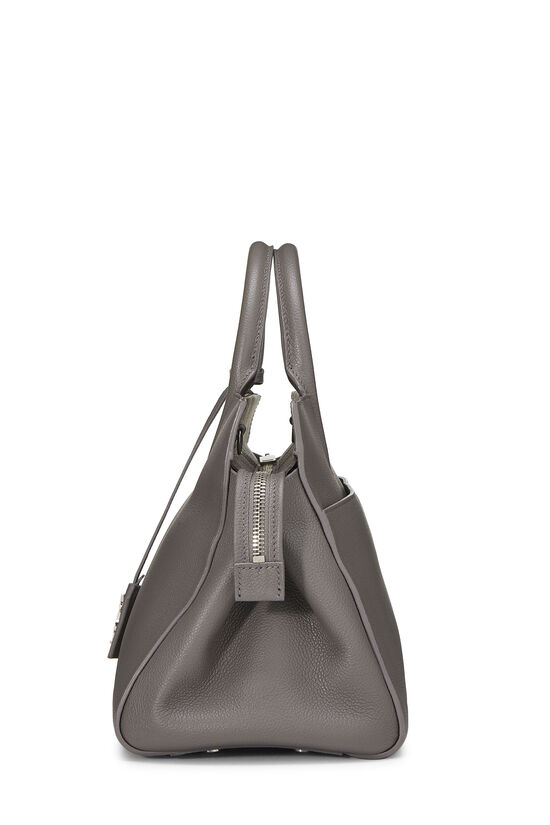 Grey Calfskin Rive Gauche Cabas Small, , large image number 3