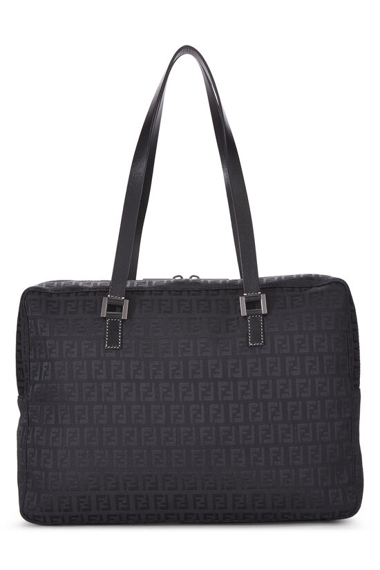 Black Zucchino Canvas Tote Small, , large image number 3