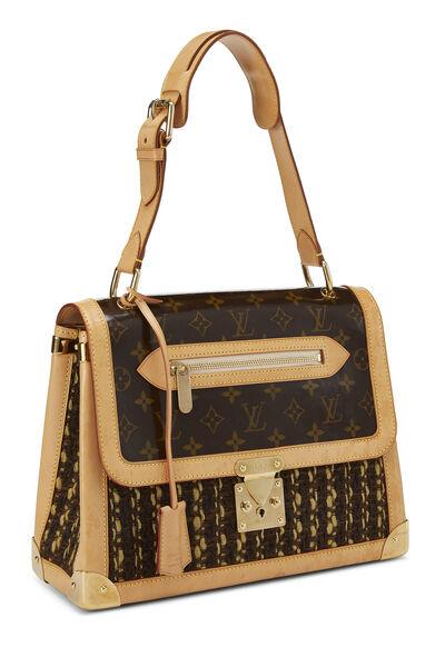 Monogram Tweedy Zip Shoulder Bag, , large
