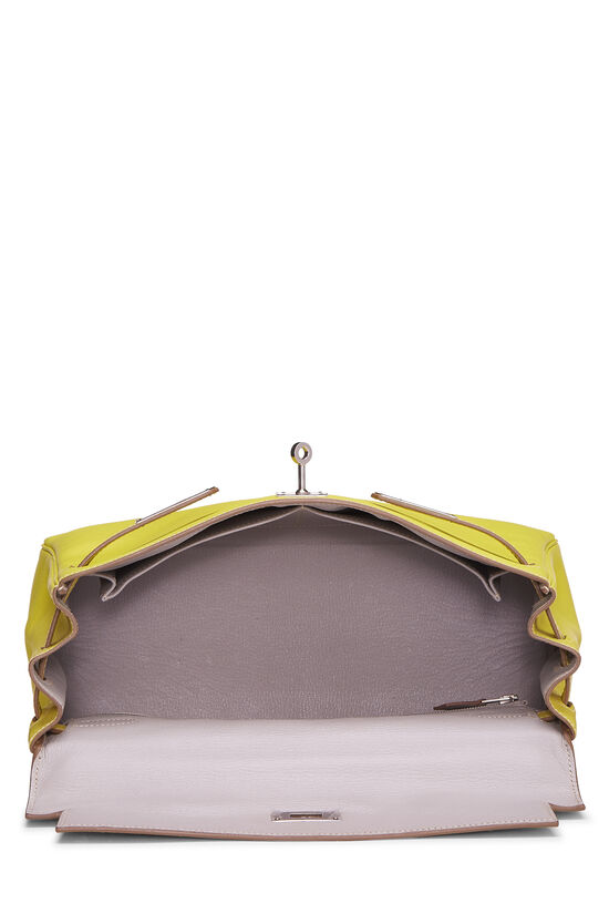 Limited Edition Lime & Gris Perle Epsom Candy Kelly Retourne 32, , large image number 5
