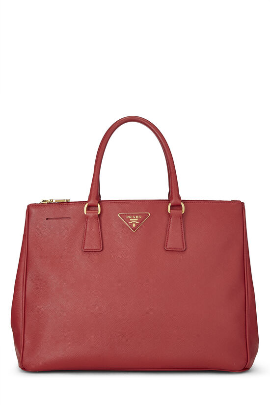 Red Saffiano Executive Tote Large, , large image number 0