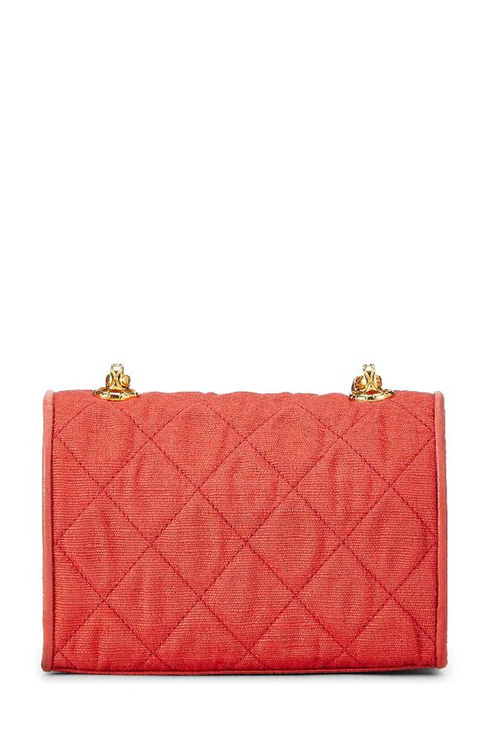 Red Quilted Flower Flap Mini, , large image number 6