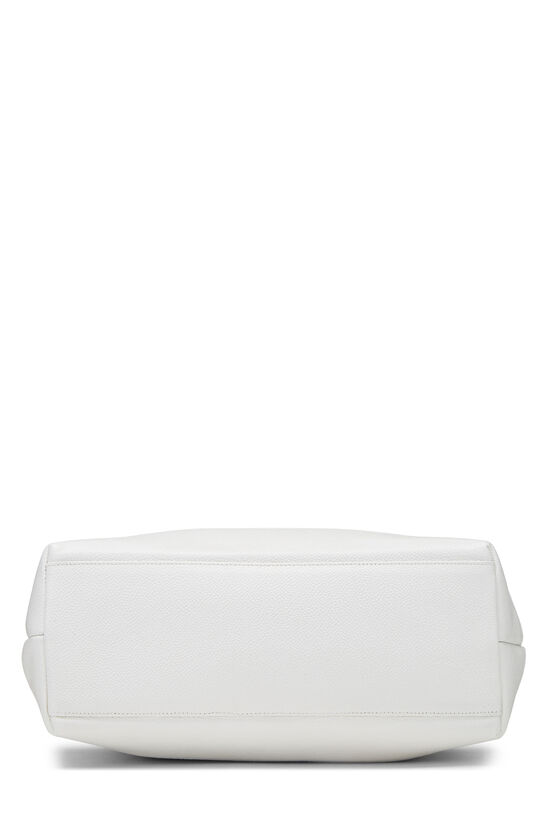 White Caviar Zip Tote, , large image number 4