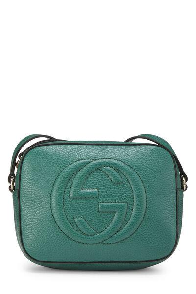 Green Grained Leather Soho Disco