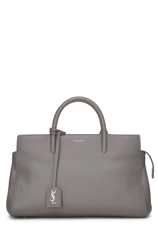 Grey Calfskin Rive Gauche Cabas Small, , large image number 0