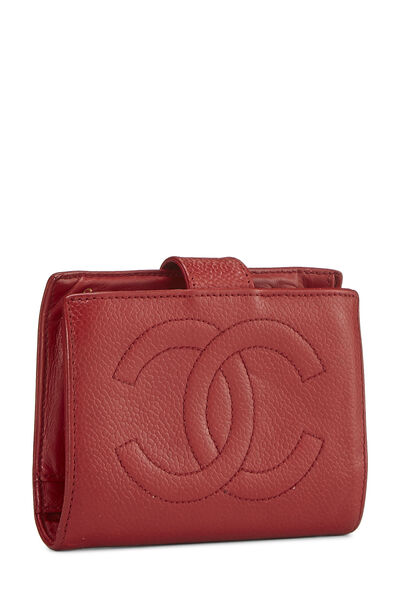 Red Caviar 'CC' Compact Wallet, , large