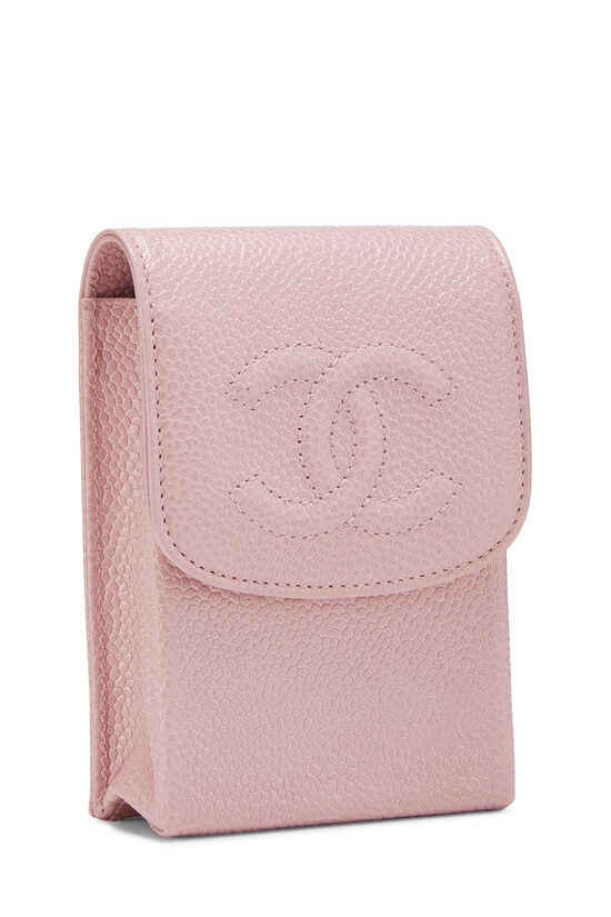 Pink Caviar 'CC' Snap Pouch, , large image number 1