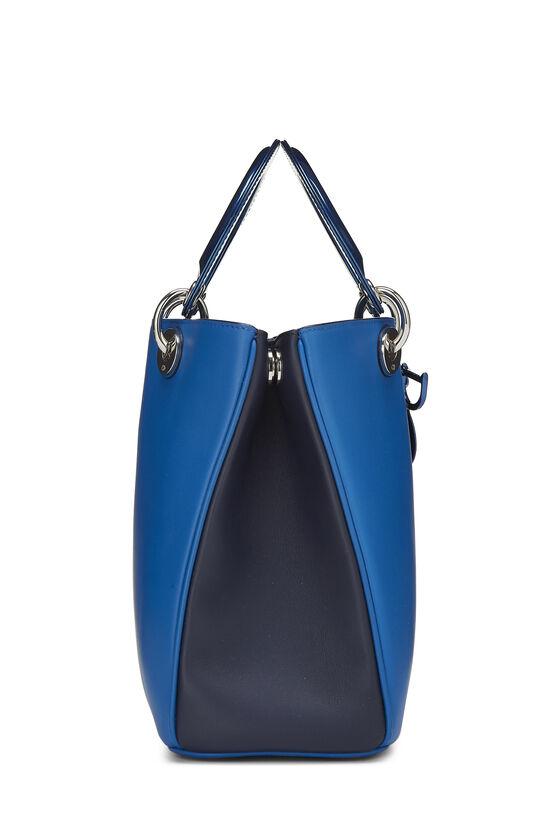 Blue Leather Diorissimo Medium, , large image number 2