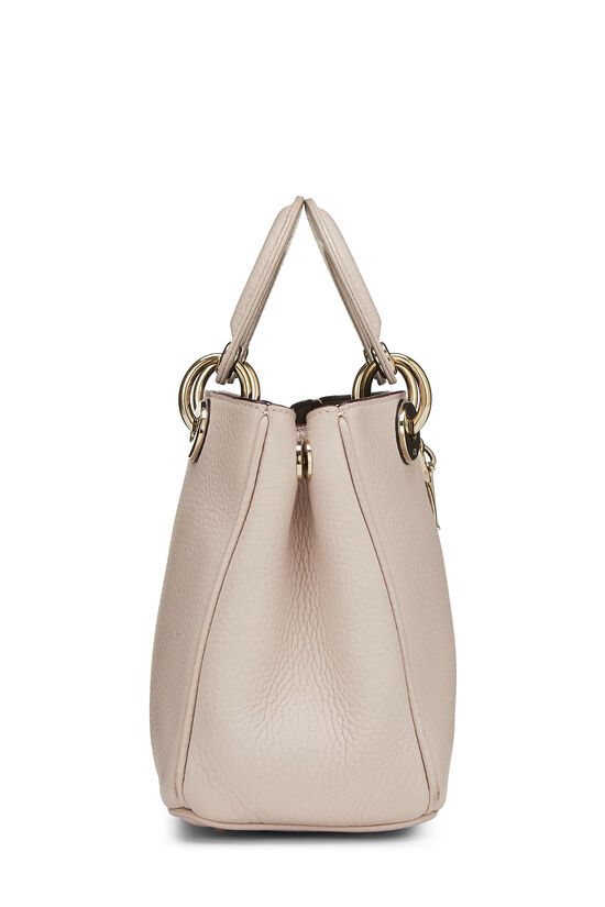 Pink Calfskin Diorissimo Handbag Mini, , large image number 2